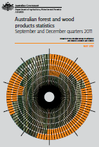 Front page of Australian forest and wood products statistics, September/December quarters 2011