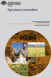 Front page of Agricultural Commodities: December quarter 2013