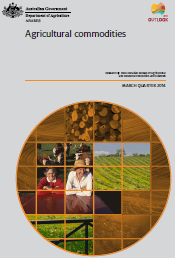 Front page of Agricultural Commodities: March quarter 2014