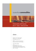 Front page of Australian commodities: December quarter 2003