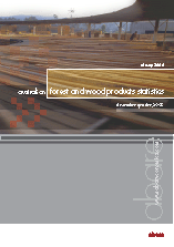 Front page of Australian forest and wood products statistics - March/June quarters 2006