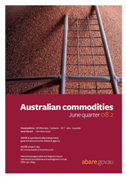 Front page of Australian commodities: June quarter 2008